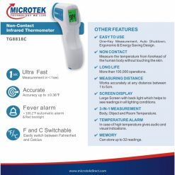 Thermometer Infra Red Microtek