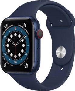 New Apple iWatch Series 6 40mm On EMI Blue