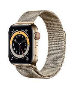 Apple iWatch Series 6 40mm On Loan Gold Metal Strap