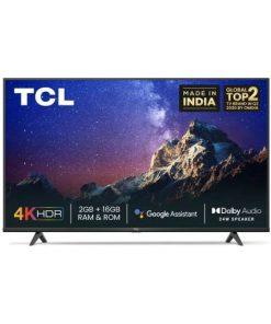 TCL 43 inch Ultra HD 4k Smart P615 TV No Cost EMI